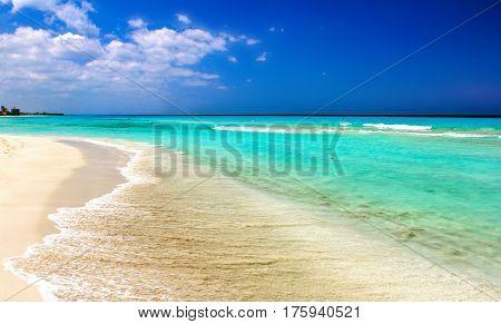 varadero ocean beach. coast on atlantic ocean