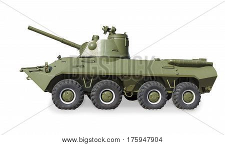 Soviet Self-propelled Artillery Gun 2С23