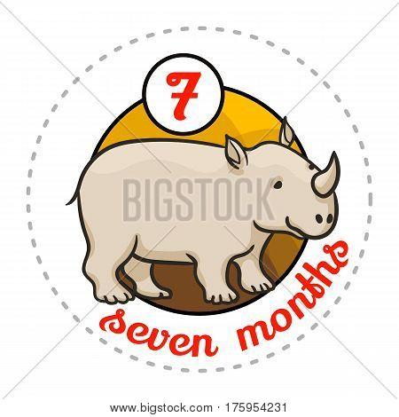Monthly Baby Sticker
