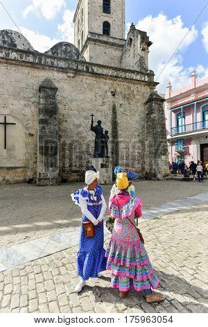 Plaza De San Francisco - Havana, Cuba