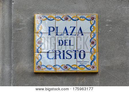 Plaza Del Cristo (cristo Square)