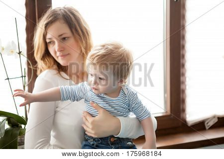 Mother And Son Beeing Toghether
