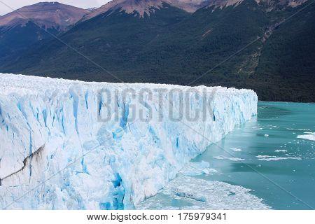 Glacier Perito Moreno in Argentine Patagonia (El calafate)