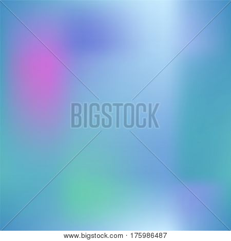 Colorful gradient mesh with dark pink blue and green. Bright colored square vector background. Cold color palette mesh. Colorful seamless pattern tile. Vibrant colored seamless background swatch