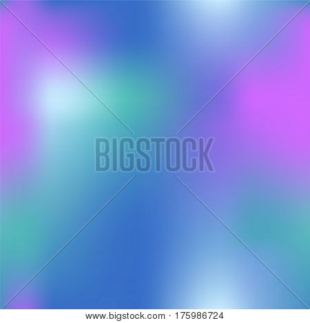 Colorful gradient mesh with hot pink dark blue and green. Bright colored square vector background. Sea mermaid colors mesh. Colorful seamless pattern tile. Vibrant colored seamless background swatch