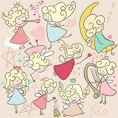 doodle fairies poster