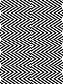 Op Art Homage To Br Vertical Zig Zag One poster