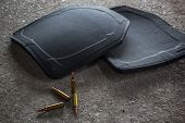 ballistic bulletproof plate carrier for into vest poster