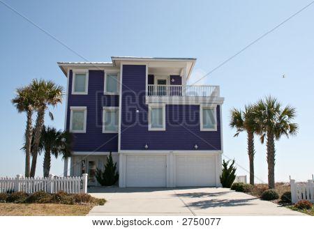 Modern Beach Front Home