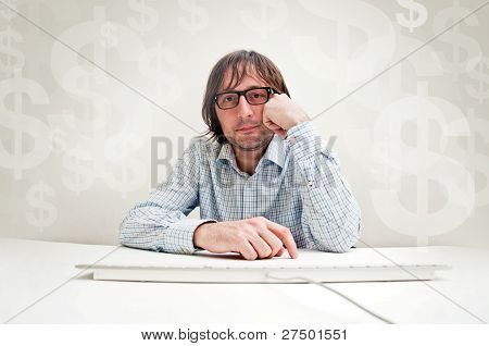 Businessman Thinking About Invesments
