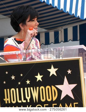 LOS ANGELES - MAY 10:  Kris Jenner at the Ellen K Star Ceremony on the Hollywood Walk of Fame on May 10, 2012 in Los Angeles, CA