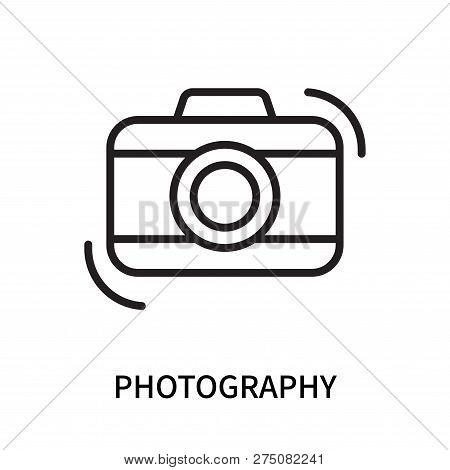 Photography Icon Isolated On White Background. Photography Icon Simple Sign. Photography Icon Trendy