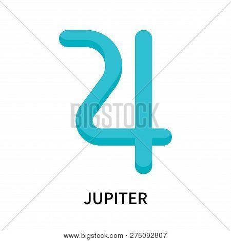 Jupiter Icon Isolated On White Background. Jupiter Icon Simple Sign. Jupiter Icon Trendy And Modern