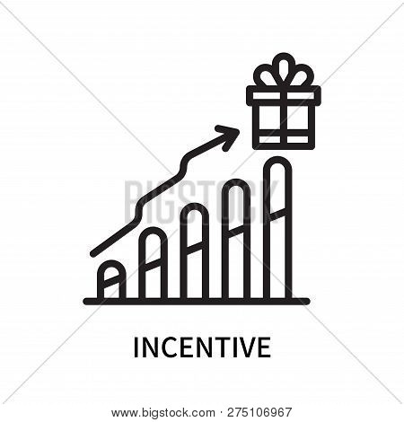 Incentive Icon Isolated On White Background. Incentive Icon Simple Sign. Incentive Icon Trendy And M