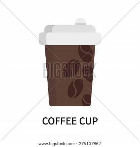 Coffee Cup Icon Isolated On White Background. Coffee Cup Icon Simple Sign. Coffee Cup Icon Trendy An