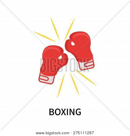 Boxing Icon Isolated On White Background. Boxing Icon Simple Sign. Boxing Icon Trendy And Modern Sym