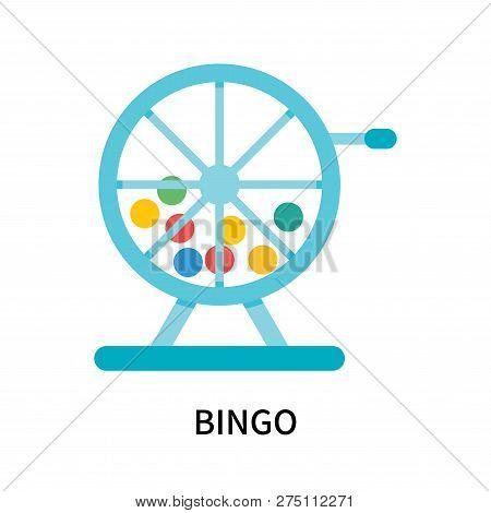Bingo Icon Isolated On White Background. Bingo Icon Simple Sign. Bingo Icon Trendy And Modern Symbol