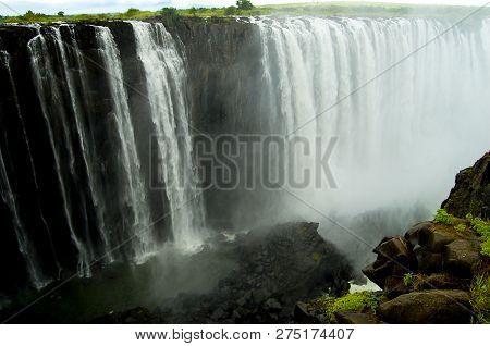 The Victoria Falls - Zambia & Zimbabwe Border