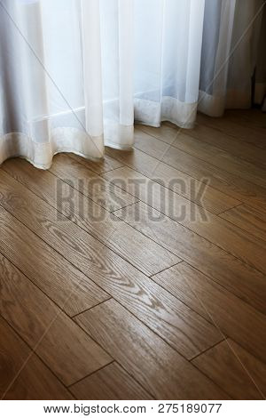 Parquet Floor In The Interior Of The Room
