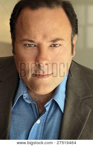 Portrait of a serous businessman