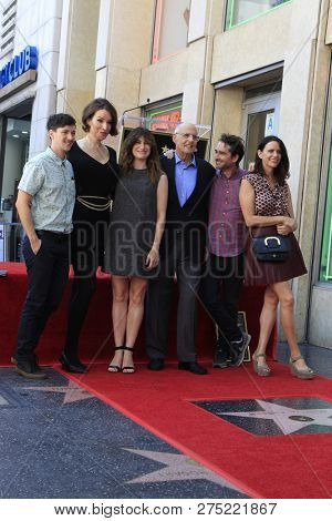 LOS ANGELES - AUG 8:  Rhys Ernst, Our Lady J, Kathryn Hahn, Jeffrey Tambor, Jay Duplass, Amy Landecker at the Jeffrey Tambor Star Ceremony on the Hollywood WOF on August 8, 2017 in Los Angeles, CA