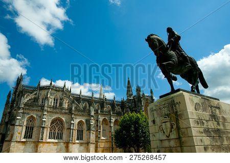 Statue Of Nuno Alvares Pereira - Batalha - Portugal