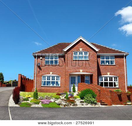 English redbrick house,uk