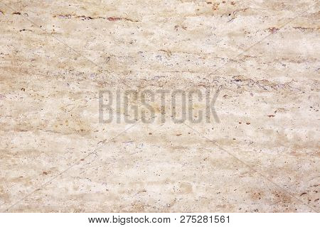 Natural Beige Marble On The Floor, Background