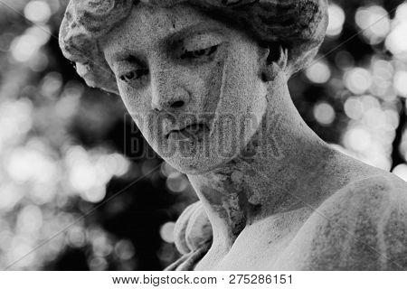 The Goddess Of Love In Greek Mythology, Aphrodite (venus In Roman Mythology) Fragment Of Ancient Sta