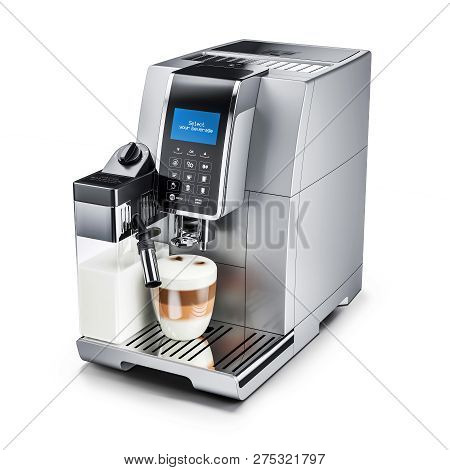 Modern Automatic Coffee Machine. 3D