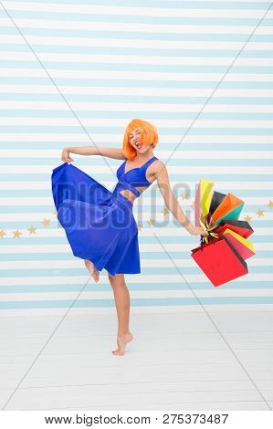 Happy Shopping Online. Happy Holidays. Last Preparations. Big Sale In Shopping Mall. Fashion. Black