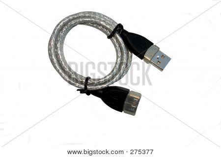 Coiled Usb Cable