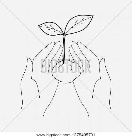 Ecology Icon Line Element.  Illustration Of Ecology Icon Line Isolated On Clean Background For Your