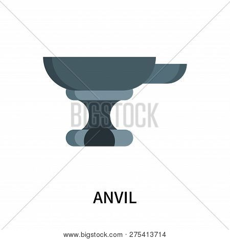Anvil Icon Isolated On White Background. Anvil Icon Simple Sign. Anvil Icon Trendy And Modern Symbol