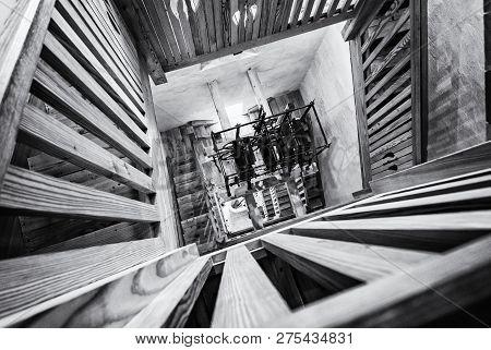 Inner Staircase In Tower, St. George's Parish Church, Piran