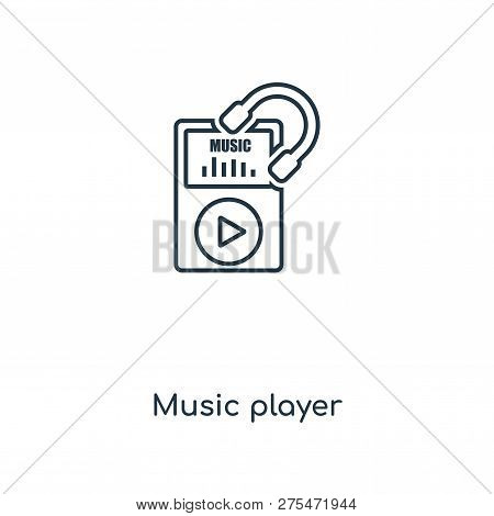 Music Player Icon Vector & Photo (Free Trial) | Bigstock