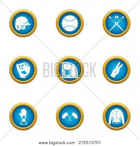 Boast Icons Set. Flat Set Of 9 Boast Icons For Web Isolated On White Background