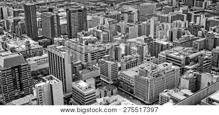 Johannesburg, South Africa - December 21, 2013: Johannesburg Central Business District Has The Most