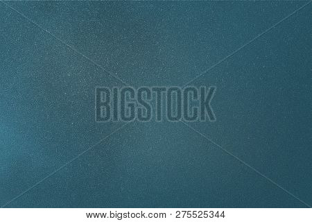 Texture Of Rough Blue Cardboard, Abstract Background