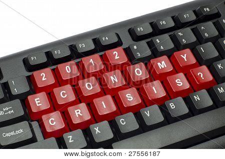 Economy Crisis Concept