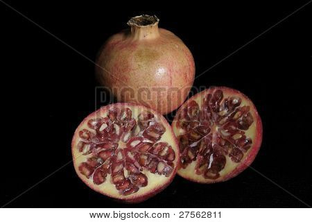 Pomegranate Fruit Closeup