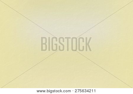 Texture Of Light Yellow Note Paper, Abstract Background