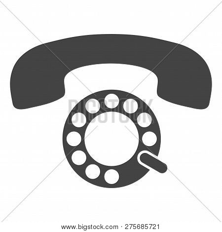 Pulse Phone Vector Illustration On A White Background. An Isolated Flat Icon Illustration Of Pulse P