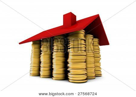 House Of Gold Coins Wideangle
