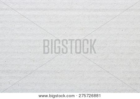 White Cardboard Texture, Cover Paper Box Background.