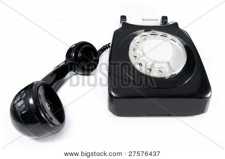 Telephone With Blank Label