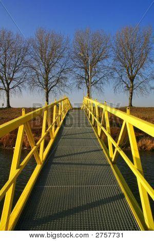 Yellow Walking Bridge