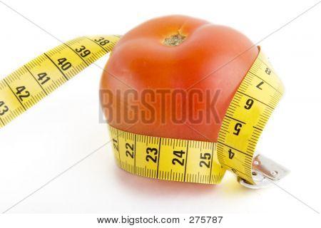 Tomato Tape Measure