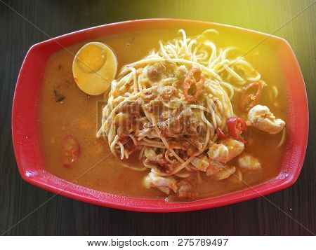 Top View Of Jawa Mee With Sun Flare