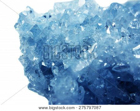 Aquamarine Gem Crystal Quartz Mineral Geological Background